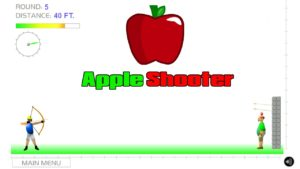 Apple Shooter hacked review